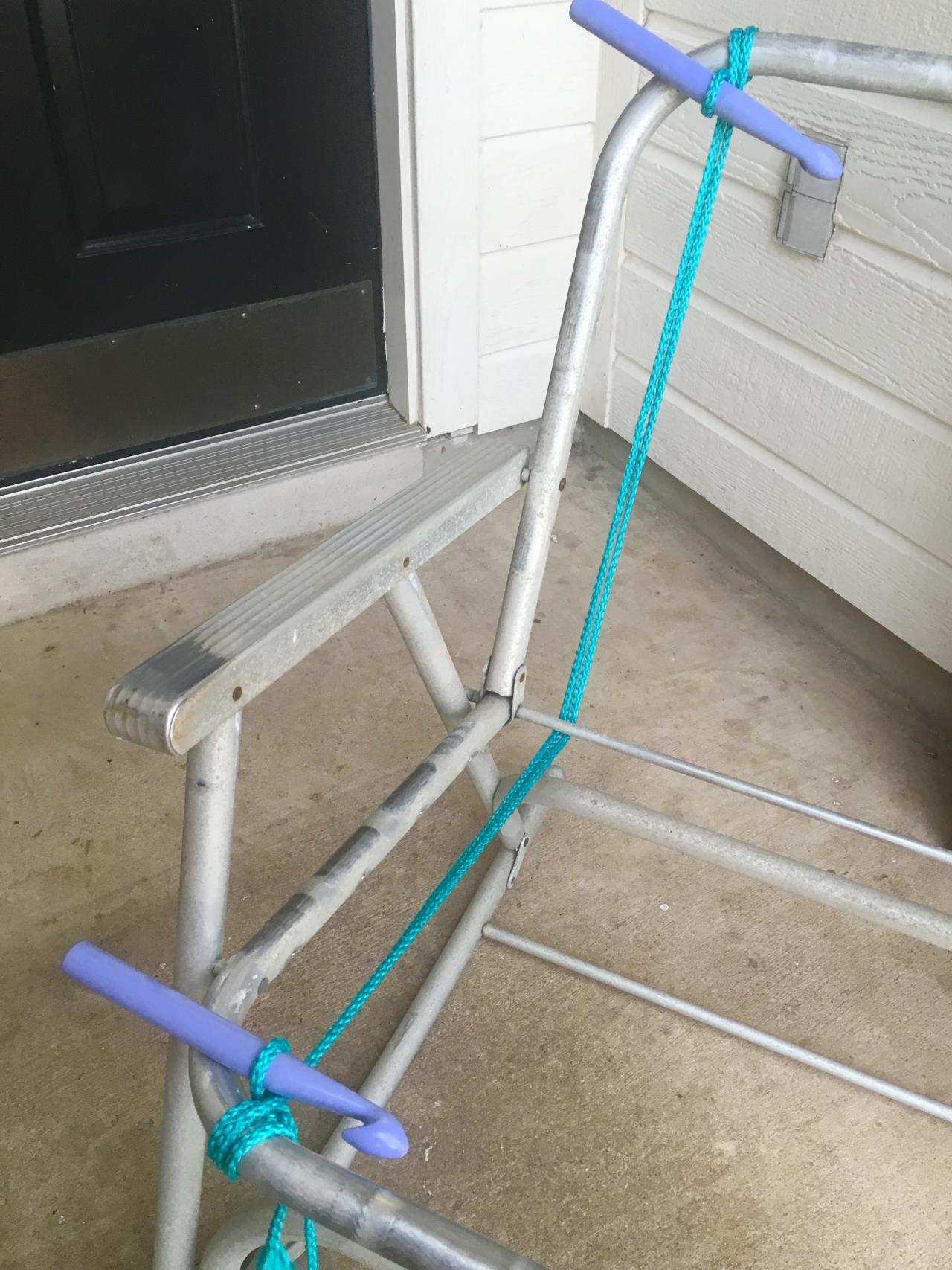 vintage lawn chair wheelchair jet airways how to macrame a tos diy step 5