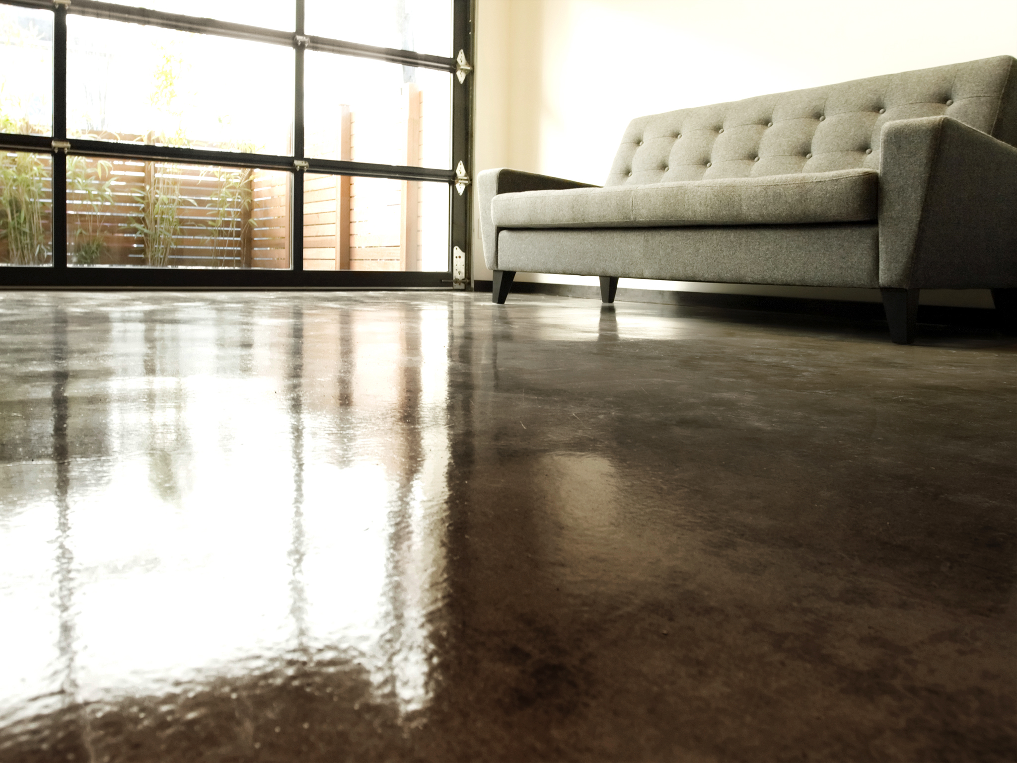 How To Apply An Acid Stain Look To Concrete Flooring