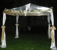 2dBrides DIY Chuppah (Jewish wedding canopy) | Weddingbee ...