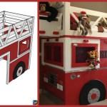 Diy Fire Truck Loft Bed Step By Step Tutorial Diy 4 Ever