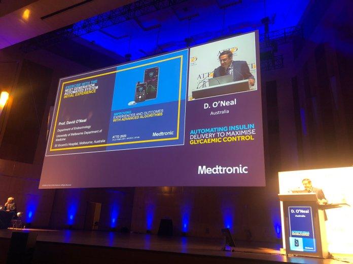 Medtronic avrupa genelinden hastaların verilerini sundu.