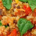Quinoa with Vegetables Featured