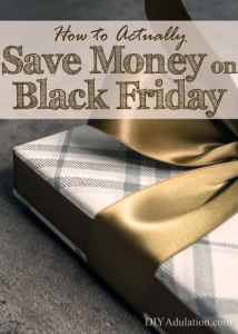 How to Actually Save Money on Black Friday