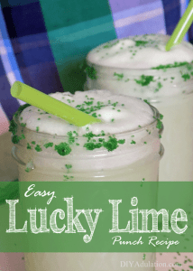 Easy Lucky Lime Punch Recipe