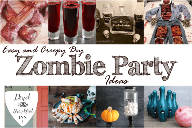 Easy and creepy diy zombie party ideas mm 176 diy adulation throw the best zombie themed party in town with these easy and creepy diy zombie party forumfinder Images