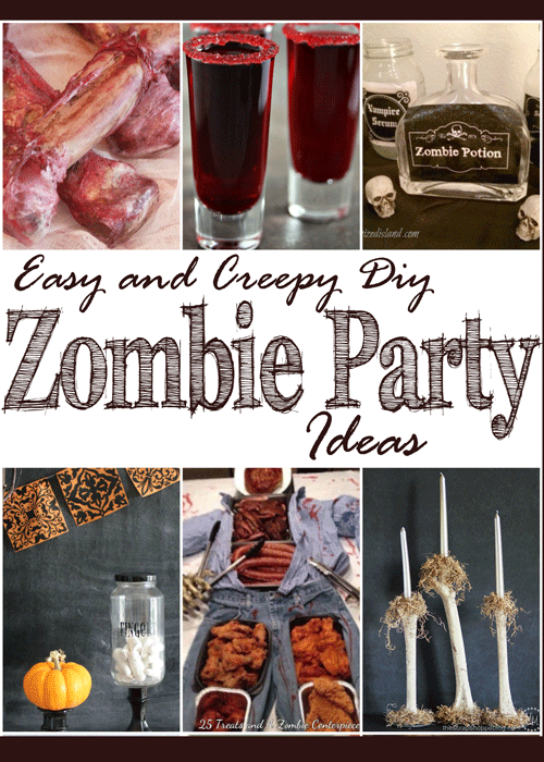 Easy and creepy diy zombie party ideas mm 176 diy adulation throw the best zombie themed party in town with these easy and creepy diy zombie party forumfinder