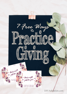 7 Free Ways to Practice Giving in Daily Life