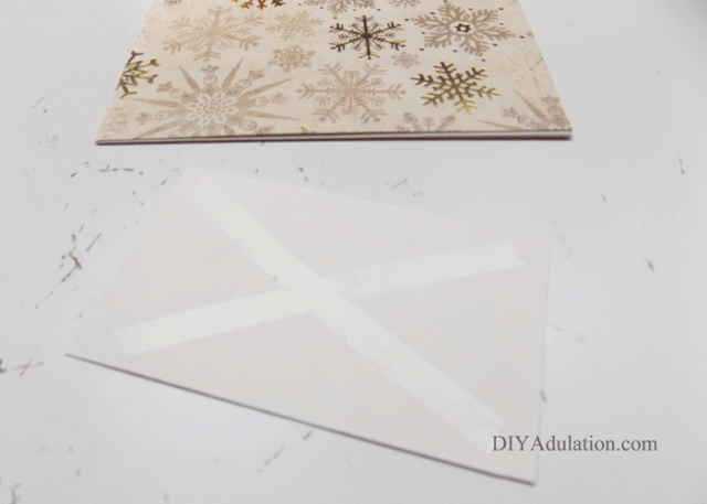 This easy handmade Merry & Bright Christmas card lets you save money on a DIY Christmas without devoting every free hour of your time to creating it.