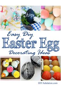 Easy DIY Easter Egg Decorating Ideas