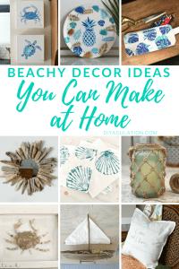Beachy Decor Ideas You Can Make at Home