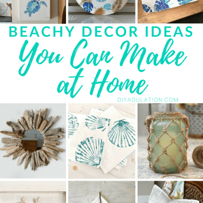 Beachy Decor Ideas You Can Make at Home