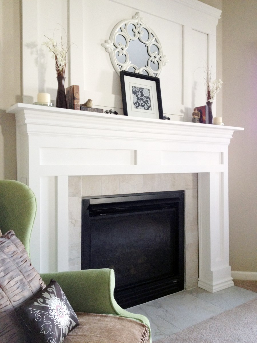 DIY Fireplace Makeover  DIYAffair