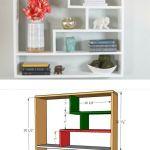 Diy Furniture Diy Easy Floating Shelves Bookcase