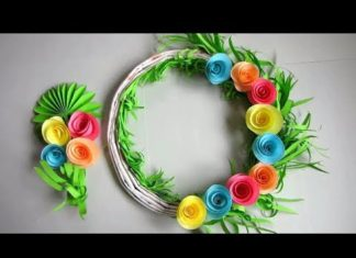 Easy Paper Flower Archives Diyall Net Home Of Diy Craft Ideas Inspiration Diy Projects Craft Ideas How To S For Home Decor With Videos