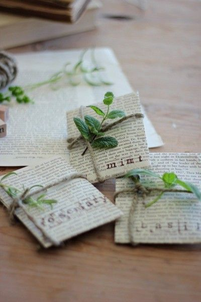 Diy Crafts Sprucing Up Seed Packets Repurposing Pages Of Old Books Into Gifts Diyall Net Home Of Diy Craft Ideas Inspiration Diy Projects Craft Ideas How