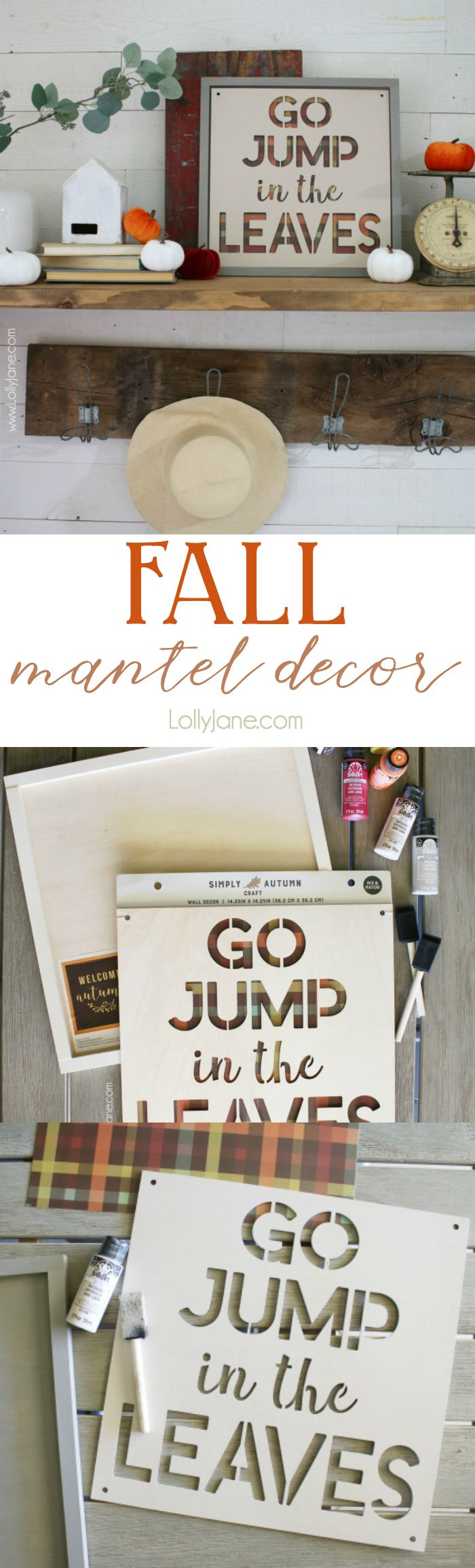 Diy Crafts Love This Plaid Fall Sign Using Buffalo Check Paper And A Pre Made Wood Frame Fr Diyall Net Home Of Diy Craft Ideas Inspiration Diy Projects Craft