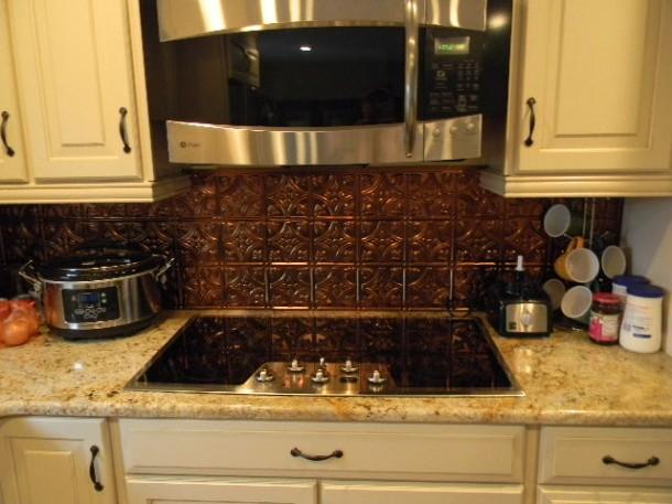 DIY Kitchen Backsplash Project  Danelle  DIYalogue