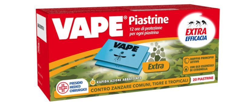 PIASTRINE VAPE EXTRA