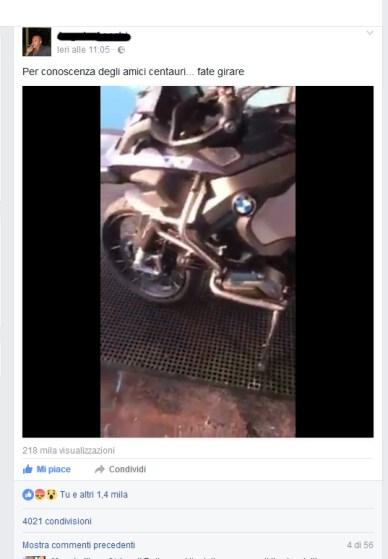 Il post dell'acquirente BMW