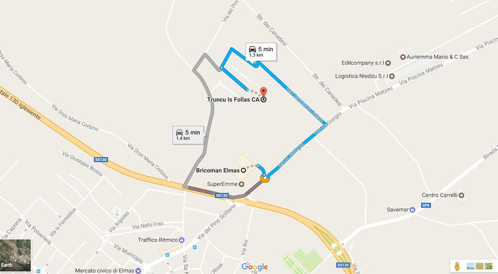 La mappa del trasferimento