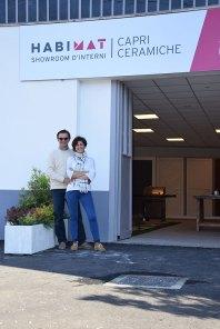 Giovanni Capri e la moglie Silvia