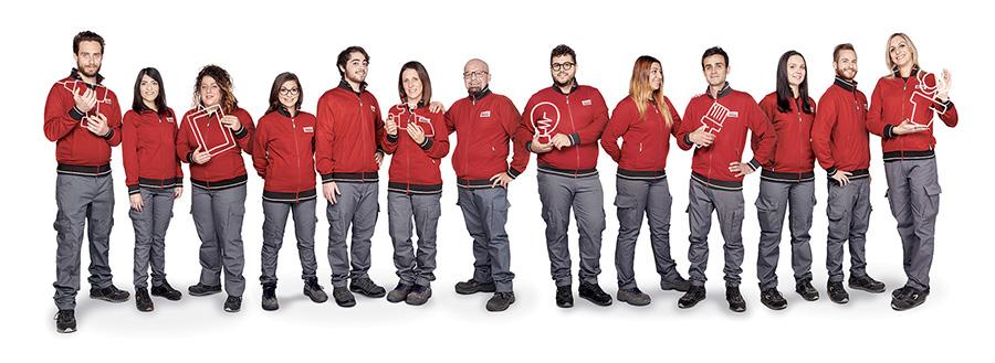 La squadra di Forlì