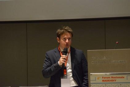 Luca Gaudenzi, marketing manager MADE4DIY