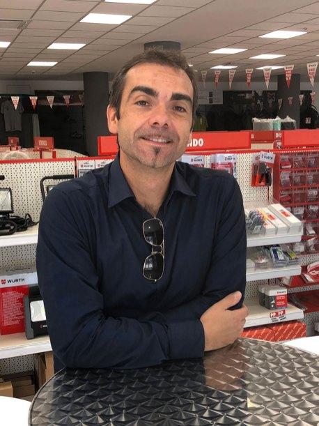 Marco Hüller, marketing merchandising manager punti vendita Würth Italia