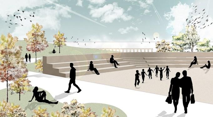Immagine del nuovo spazio retail e intrattenimento nel cuore di Verona, sul quale Progetto CRM sta lavorando