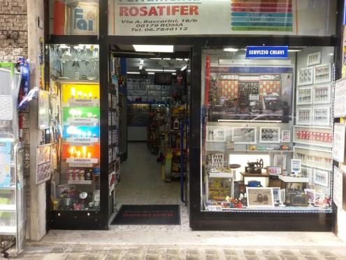 La Ferramenta Rosatifer a Roma