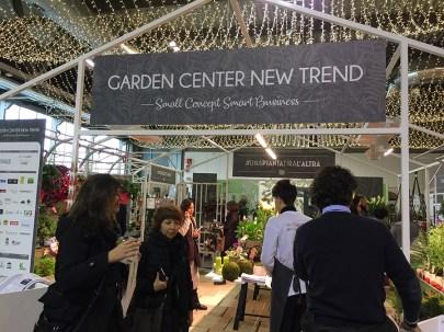 Myplant&Garden 2018: l'ingresso del Garden Center New Trend, il garden del futuro