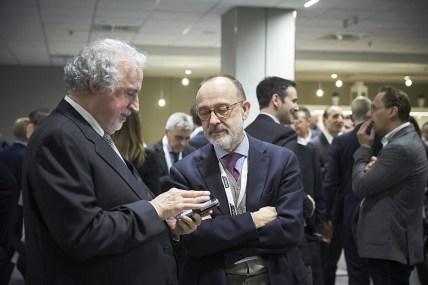 L'ad di Bricoio Danilo Villa e Daniele Ferrè, presidente di Coop Lombardia, azionista di riferimento.
