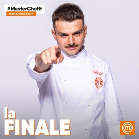 Il finalista di Masterchef 2018 Simone Scipioni