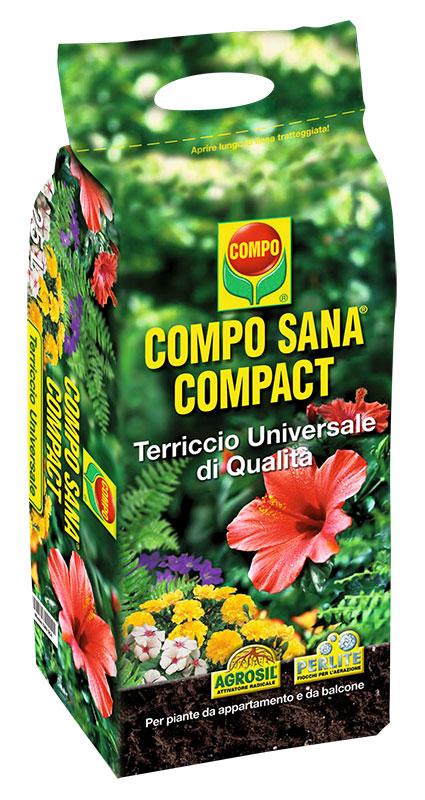 Il terriccio Universale CompoSana è composto da torba di sfagno provieniente dal Nord Europa