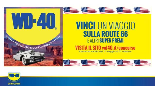 Il nuovo concorso WD-40 Route 66