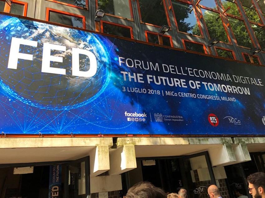 Forum dell'Economia Digitale 2018