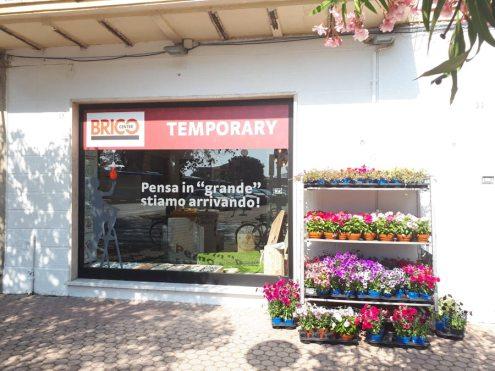 Temporary Bricocenter a Viareggio