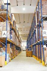 La nuova sede Rinaldo Franco Spa: il magazzino