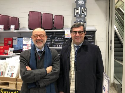 Danilo Villa e Giovanni Grasso, Ceo and President of Brico io