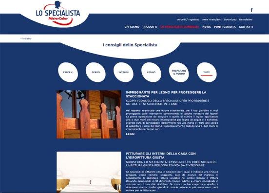 Il blog de Lo Specialista di MisterColor