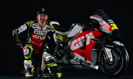 Cal Crutcholw, pilota del teamLCR Honda Racing, sponsorizzato da Lavor
