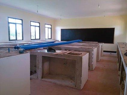 Tanzania, Kongwa: laboratorio di chimica