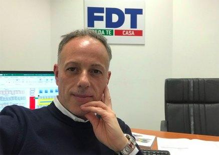 Giovanni Todaro, responsabile commerciale di Fdt