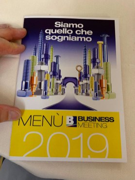 Momenti del Business Meeting 2019 del Gruppo Bricofer