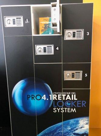 Il Loker per le consegna dei prodotti acquistati