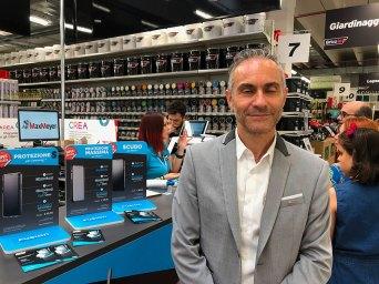 Paolo Roghi, responsabile merchandising Brico io