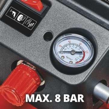 Il compressore Einhell TE-AC 36/6/8 Li OF Set