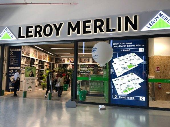 Leroy Merlin, Roma Salaria