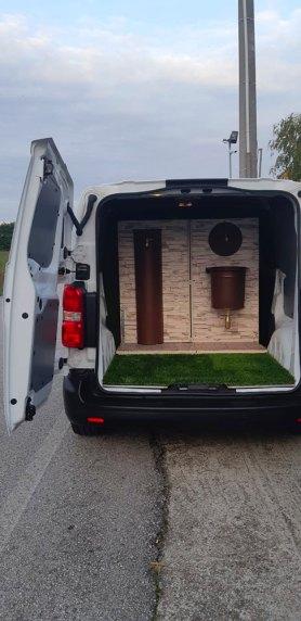 Il nuovo furgone Bonfante allestito con le nuove proposte