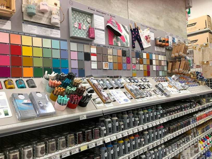 Reparto vernici decorative e accessori rivoluzionato